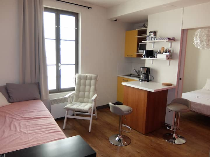 Appartement 3 personnes, marché centre ville