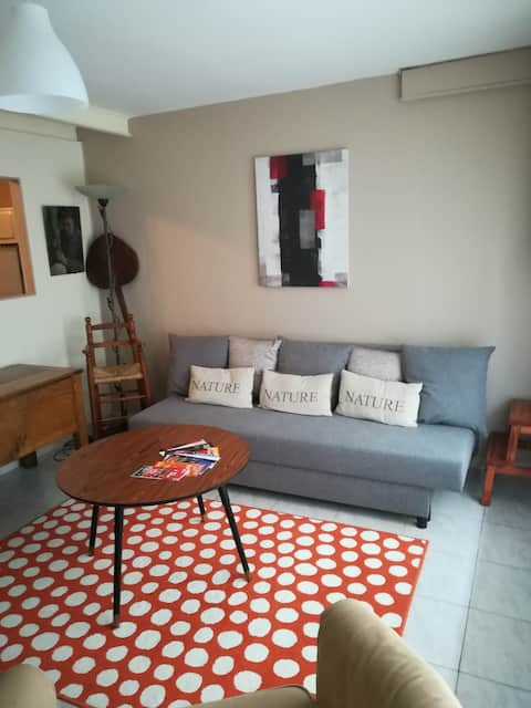 Apartment 30mn from Paris by train.Near Apave.