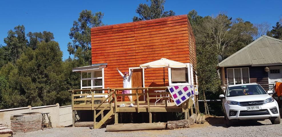 rento cabaña en litoral central el tabo