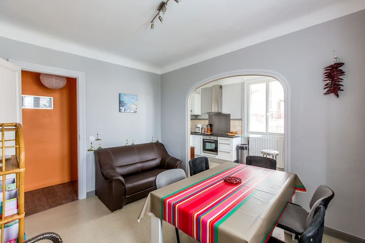 Nice and cosy apartment near ocean