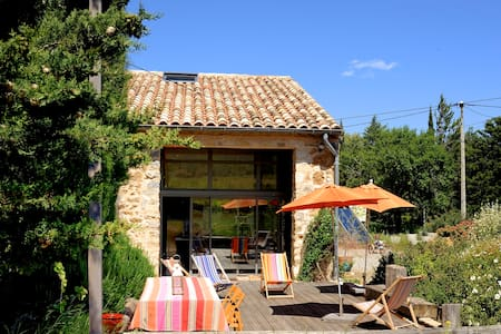 Country B&B for nature lovers nr Languedoc coast - Feuilla - Dům
