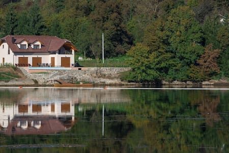 Villa Lake, brand new villa with pool and fitness - Ogulin - Hus