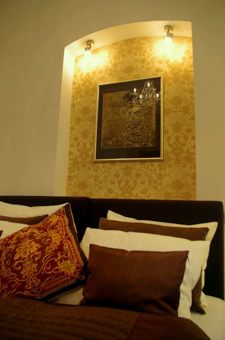 Choice of comfortable decorative and bed pillows meeting the four-star hotel standards