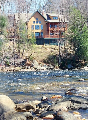 Riverside Adirondack Retreat  - Avon - Casa