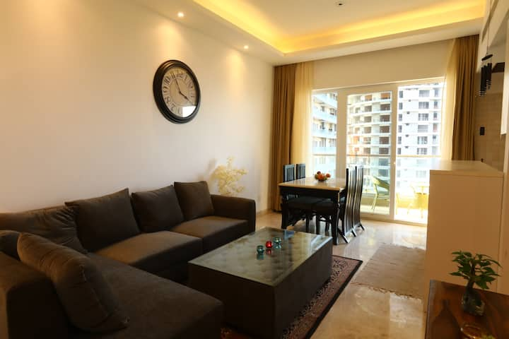 Fully furnished luxury stay with a beautiful view
