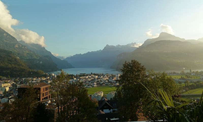 B&B with Lakeview (near Lucerne) - Brunnen SZ - 家庭式旅館