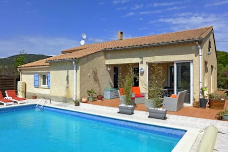 Villa with private pool in Aude - Argeliers