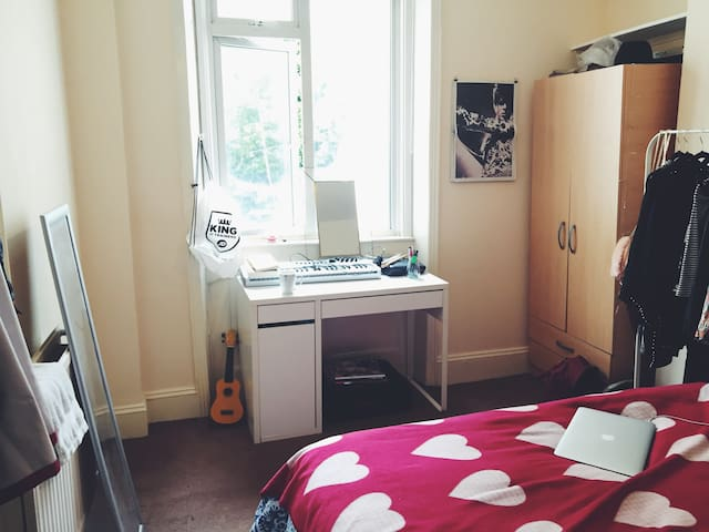 Room with double bed in central Brighton - Brighton - Haus