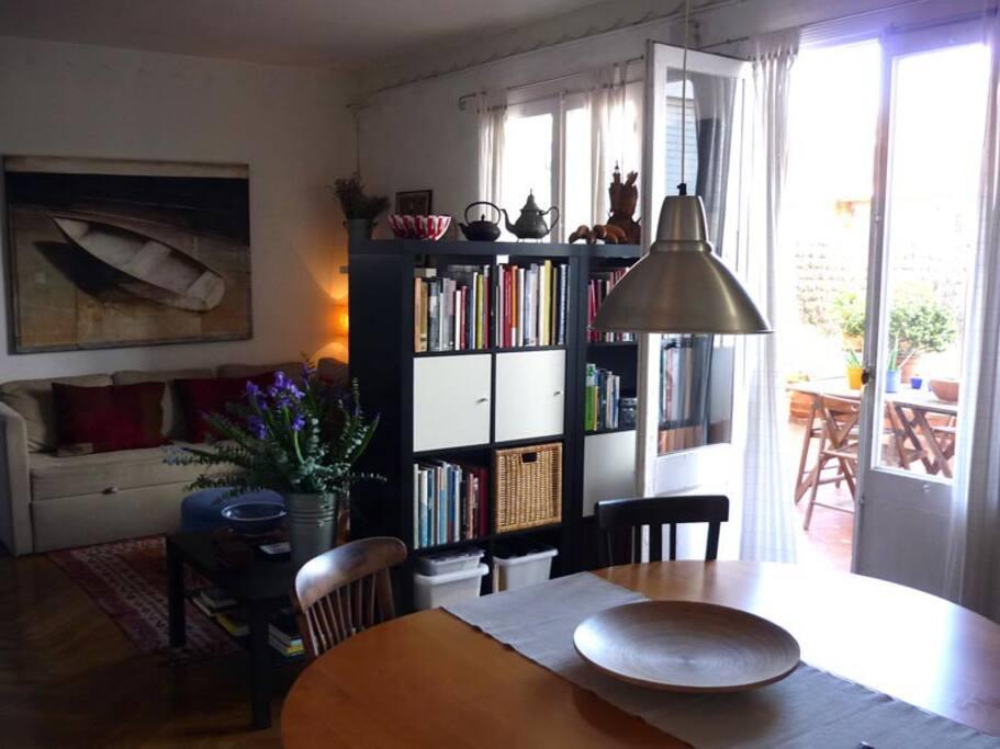 Atico con bella terraza barcelona apartments for rent in - Atico terraza barcelona ...