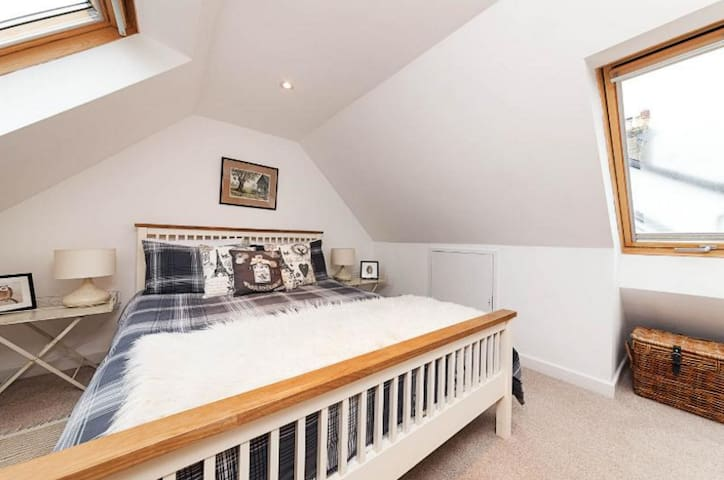 Owls Loft apartment with good access to Cambridge - Linton - Daire