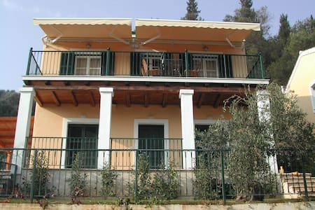 Vila Prinos on the island Corfu - Pelekas