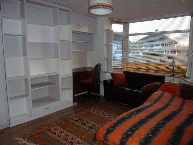 Large single/Twinbed type room convenient location