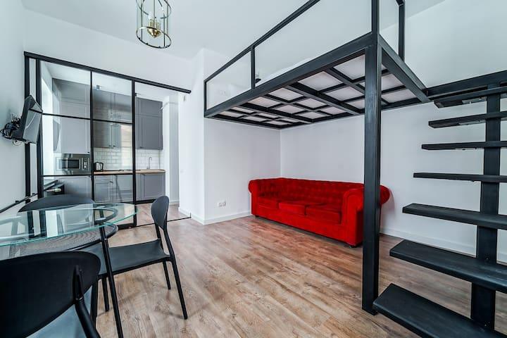 Apartment on Communist street