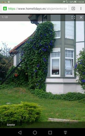 Estudio con vistas y jardin. - Santillana del Mar,  - Dom