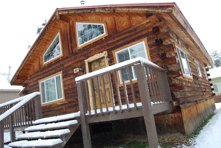 Artist's Ecclectic Cabin - Pagosa Springs - Stuga