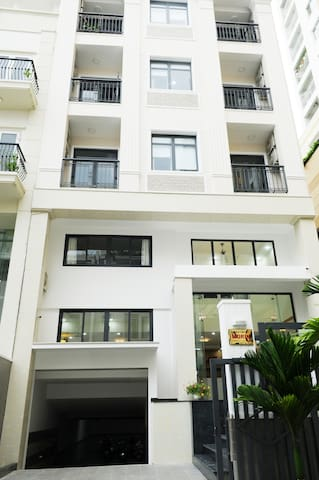 Morin Serviced Apartments, keycard access building