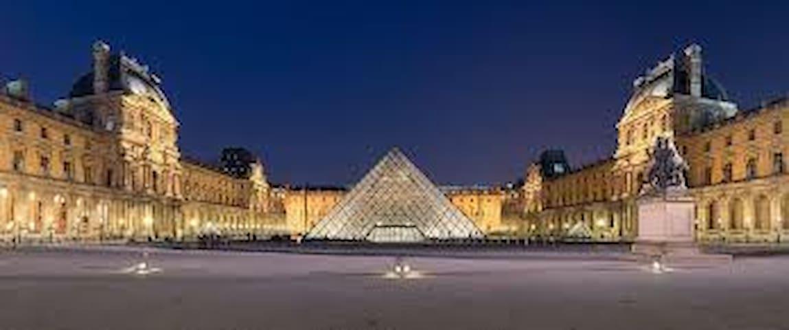 A 5min a pied du musée du Louvre