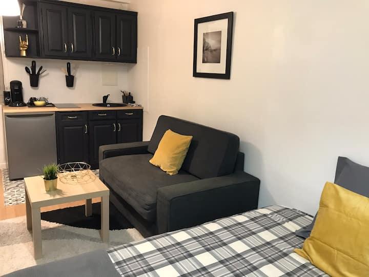 Confortable studio pour 4 personnes