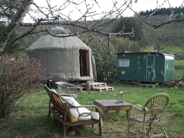 La yourte nature - La Tagnière - Yurt