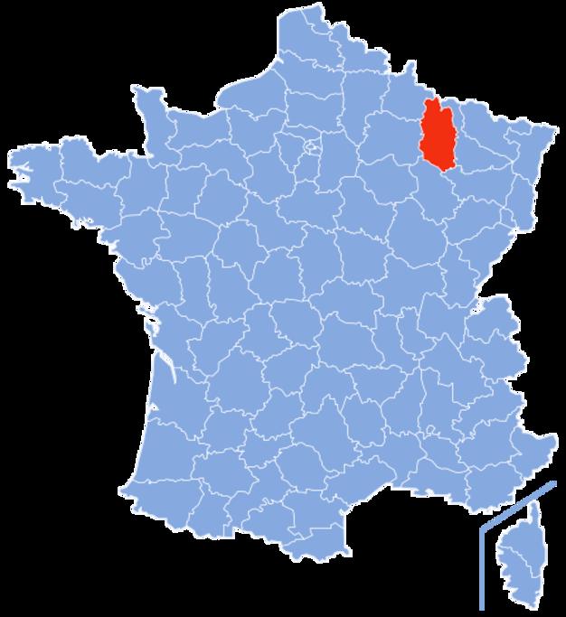 Le département de la Meuse