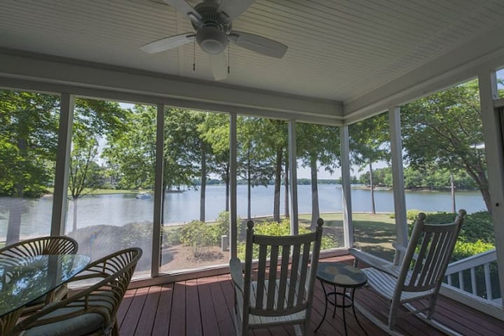 BOOK FOR MASTERS NOW AT PRE MASTERS PRICES! Lookout Point - Reynolds Lake Oconee Main Lake Views