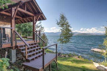 Lakefront Romantic Sandpoint Gem - Sagle