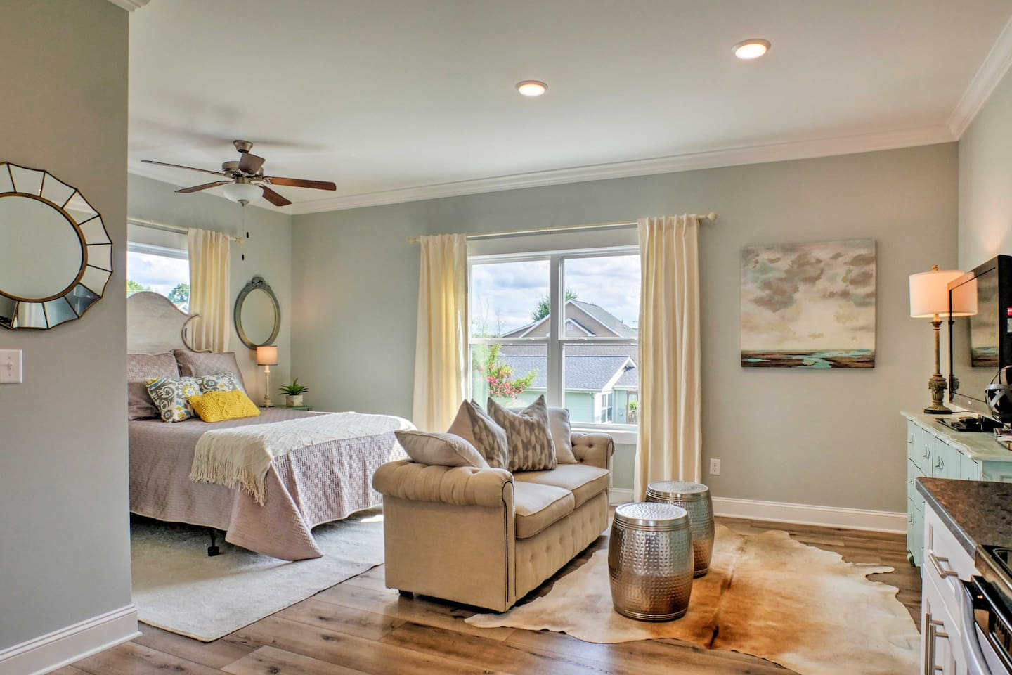Make yourself at home inside this charming vacation rental studio!