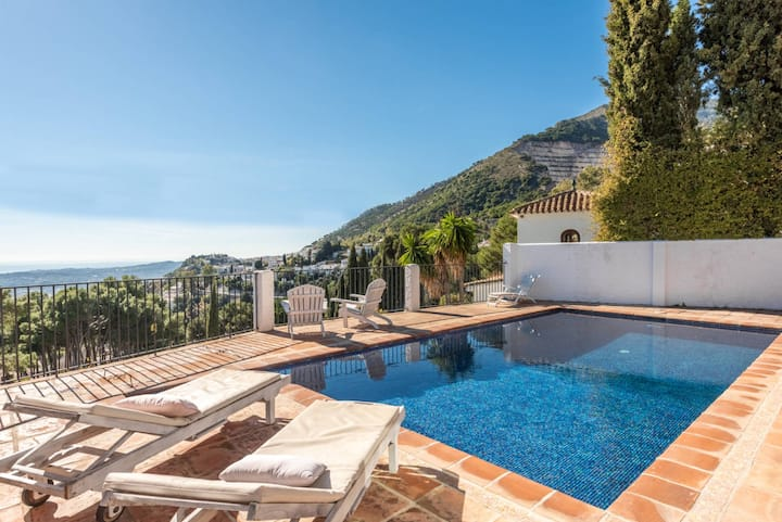 A hidden luxurious Gem in Mijas Pueblo