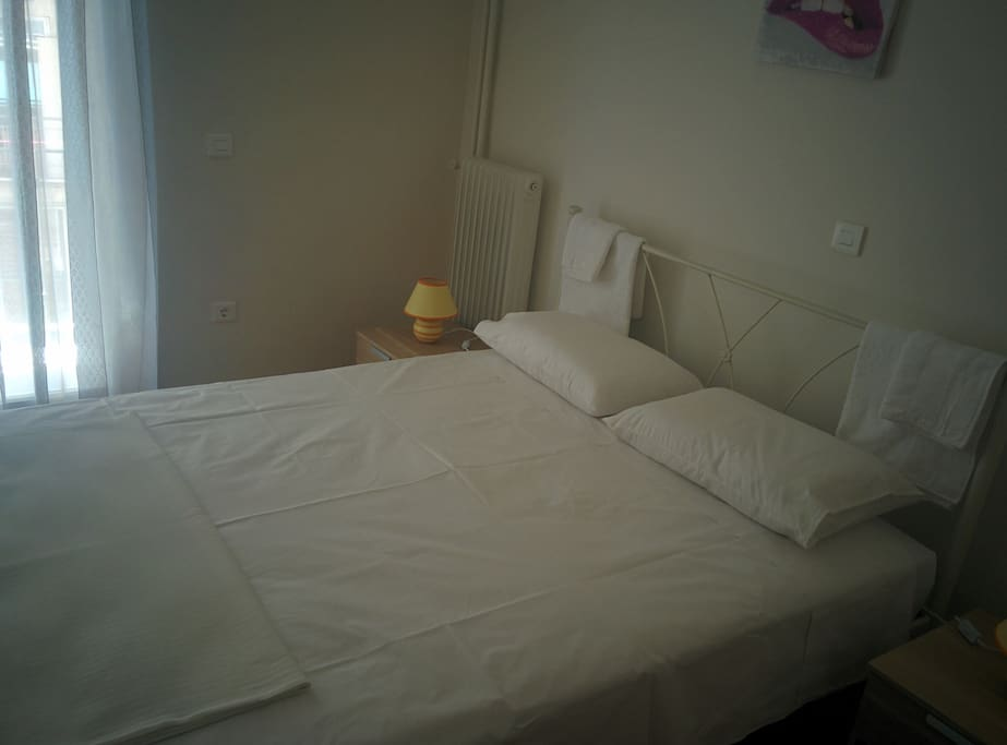 Bedroom #1. Full bed with really comfortable mattress