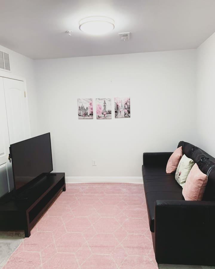 Pink Modern Apartment