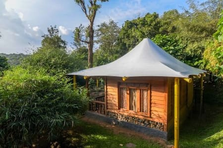 Pugmarks Wooden Cottage close to forest in Wayanad
