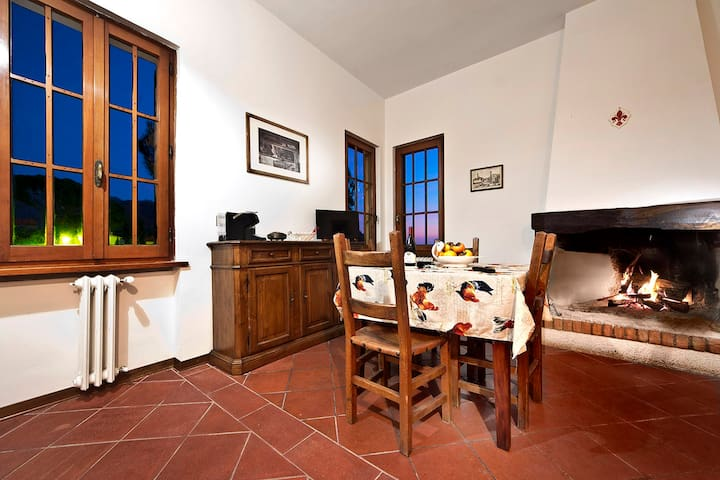 Casa vacanze  panoramica Reggello - reggello - Apartemen