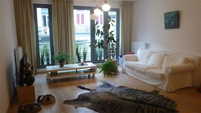 Stay @Bohemian heart BXL, in spacious comfort - Saint-Gilles - อพาร์ทเมนท์