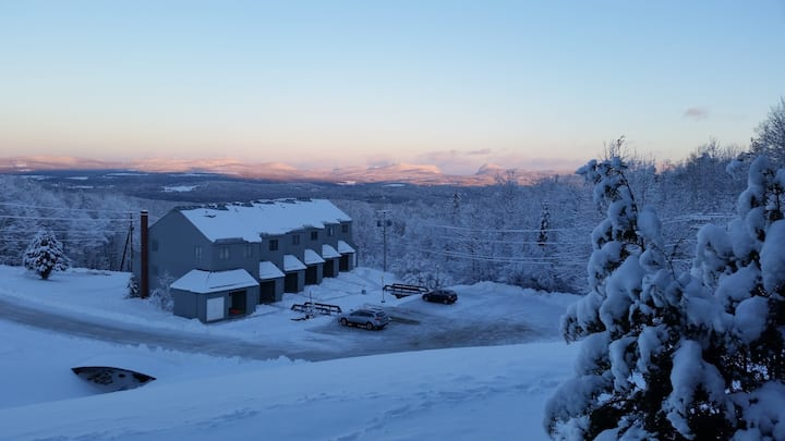 Burke Mt condo  -gap view & ski and bike trails.