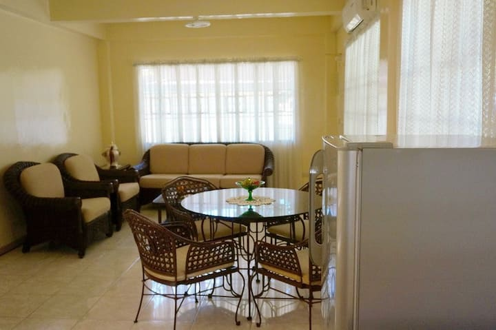 Two Storey Apartment Gated w/ Lawn