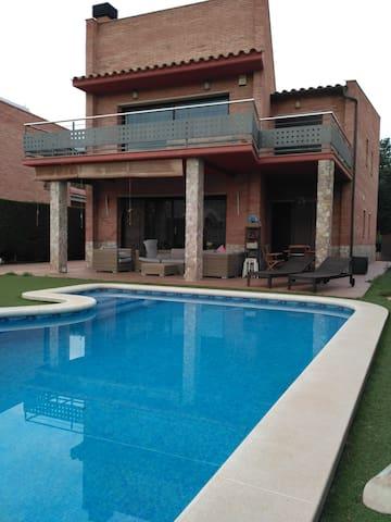 Casa ubicada al pie del Montseny