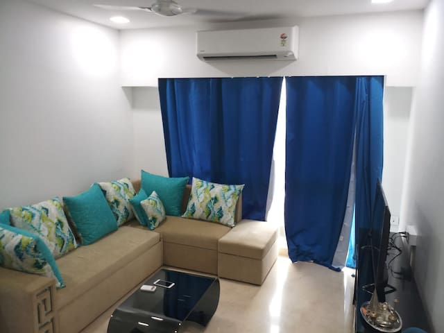 Luxury 2 Bedroom Apartment in Bandra kurla Complex