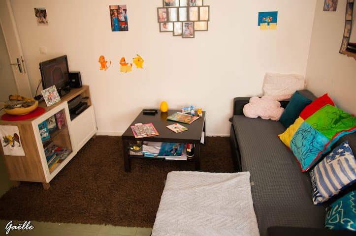 Belle appartement de 72 m2 au coeur de Lyon