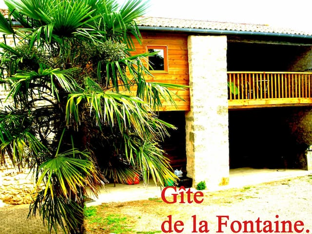 Gite de la Fontaine - Assais-les-Jumeaux - Lägenhet