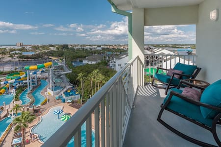 1 BR/BA Overlooking Waterpark, Gulf & Intercostal! - Indian Rocks Beach - Condominium
