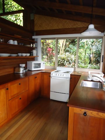 Architect's Private Cottage - Hōlualoa - Cabin