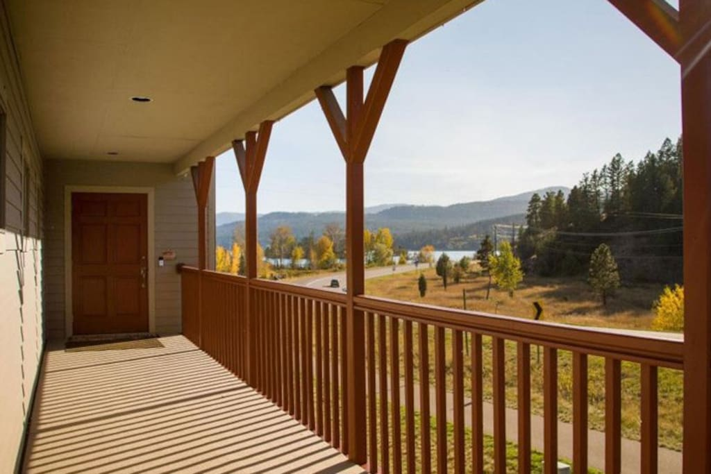 Comfy three bedroom home on the north end of Flathead Lake.