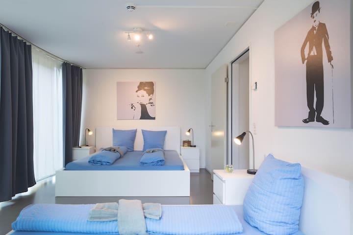 Bright 2.5 room Apartment Pilatus IV