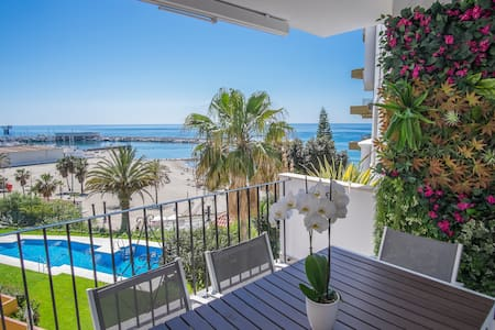 Breathtaking ocean view apartment central Marbella - Marbella