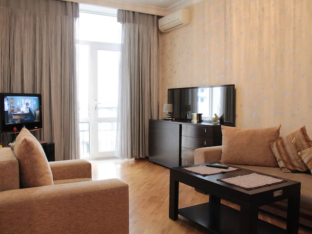 """City of Lights Baku""Apartment in the city center."
