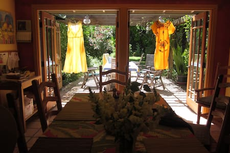 Garden Retreat Walk to Wine Country - Los Olivos - Σπίτι