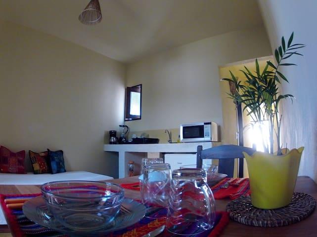 Vila Kitesurfando Compact Kitchen