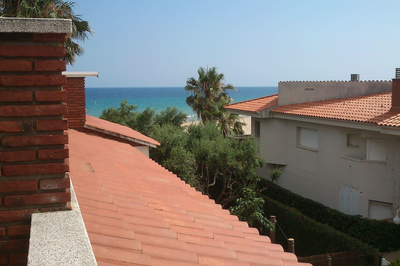 bright penthouse seaside