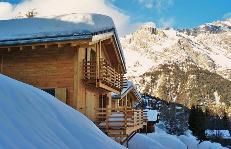 Chalet de charme et moderne L'escalade - Chamoson - Haus