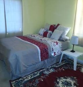 One Queen bed private room